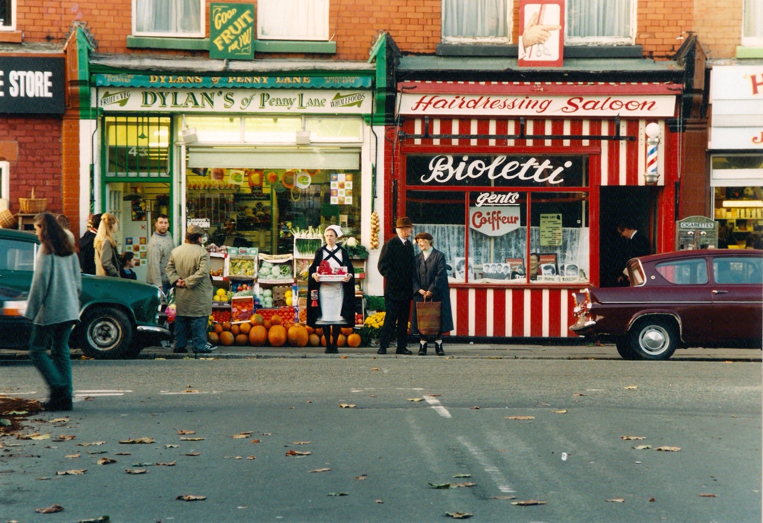 FREE AS A BIRD : PENNY LANE, LIVERPOOL DRESSED FOR THE 1960S