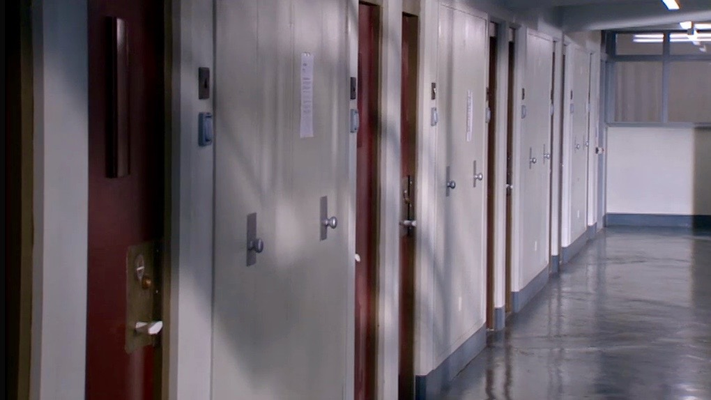 BURIED : PRISON CELLS CORRIDOR