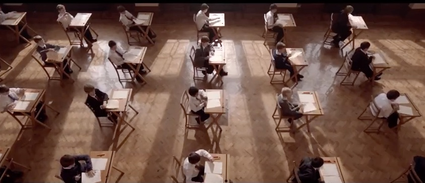 BELIEVE : SCHOOL EXAMINATION HALL 1970S