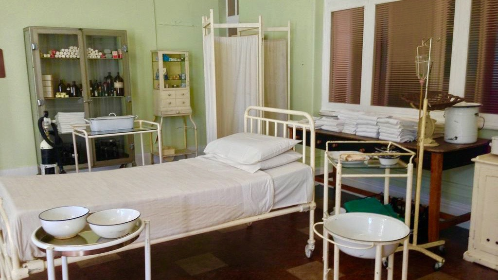 BREATHLESS COUNTRY HOSPITAL WARD