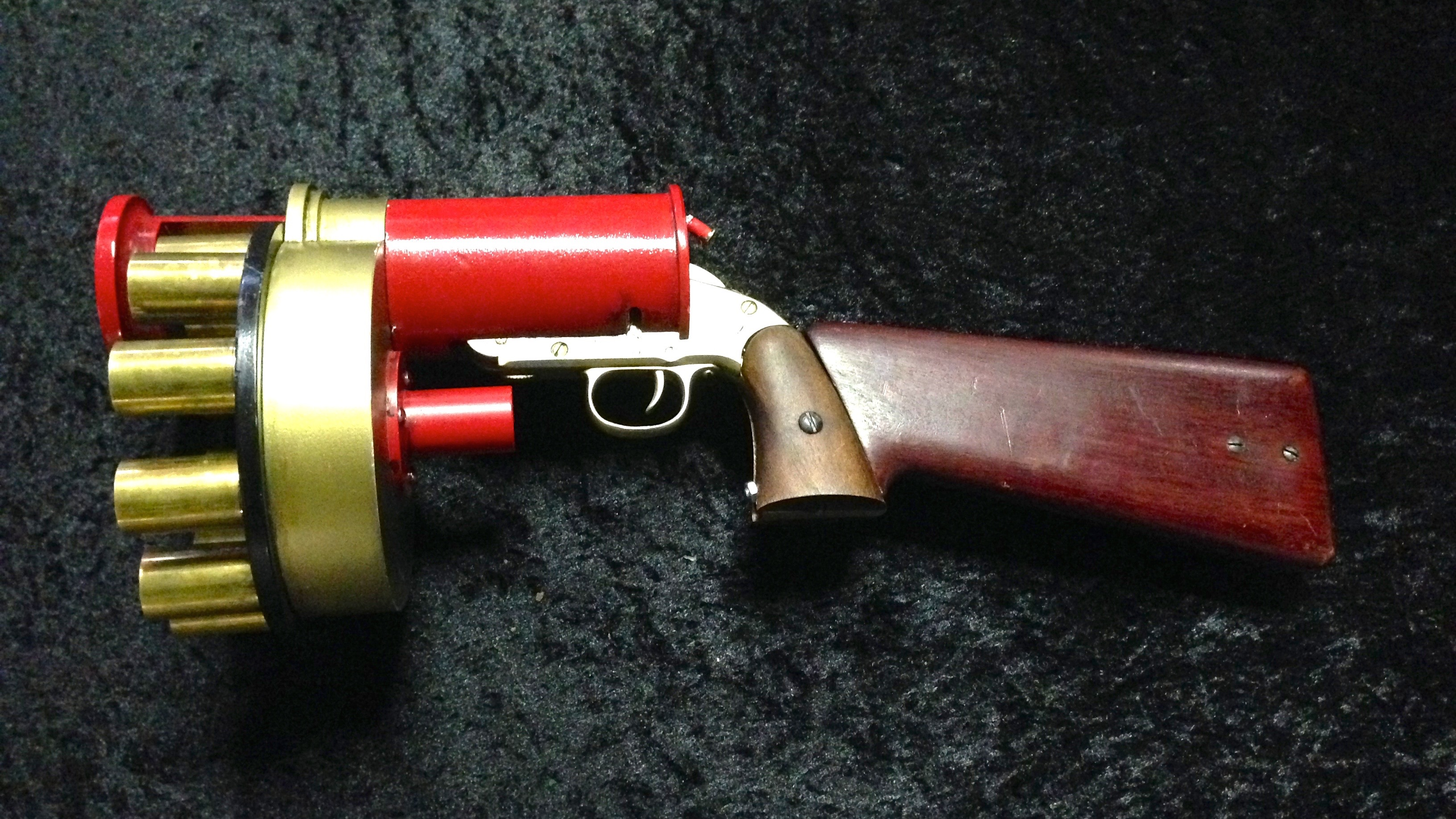 GET SANTA : REINDEER'S POO GUN PROP