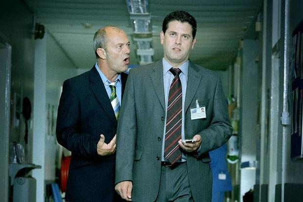 BODIES : HOSPITAL CORRIDOR : KEITH ALLEN AND PATRICK BALADI