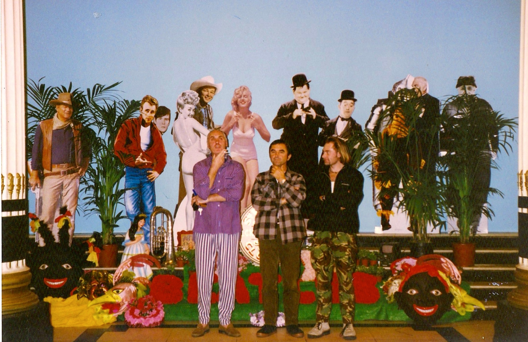 FREE AS A BIRD : SGT. PEPPER'S LONELY HEARTS CLUB ALBUM COVER RECREATION IN ADELPHI HOTEL.