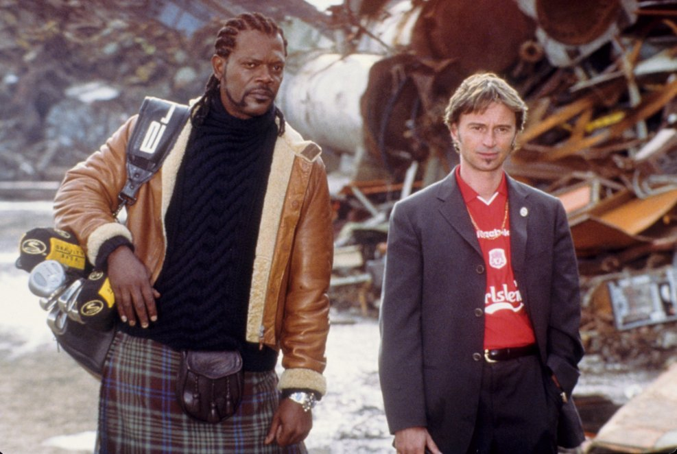 THE 51ST STATE : SAMUEL L JACKSON AND ROBERT CARLYLE