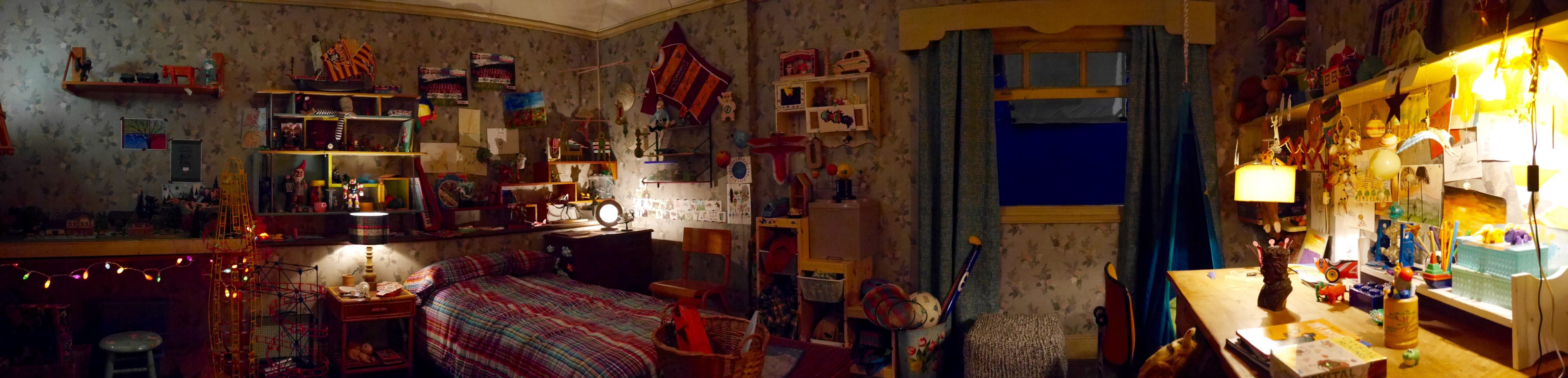 A MONSTER CALLS : BOY'S BEDROOM INTERIOR