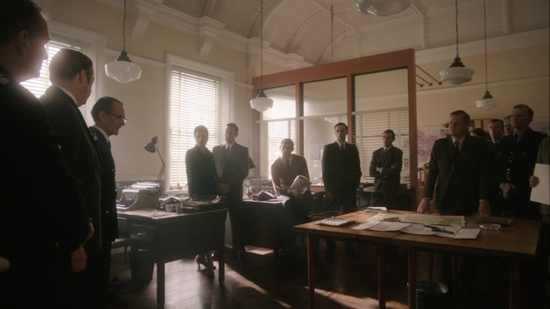 ENDEAVOUR SERIES ONE : POLICE STATION CID OFFICE