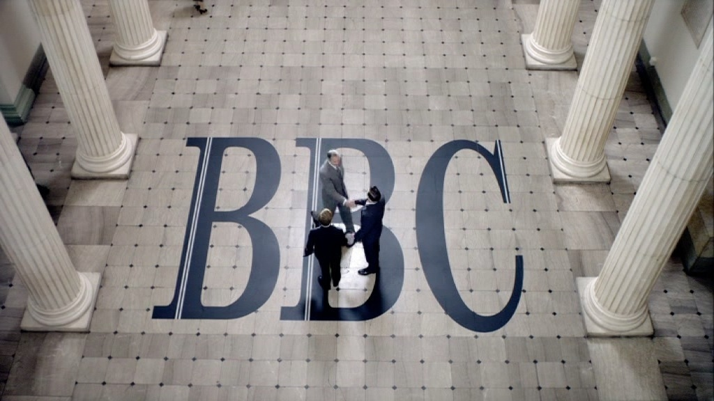 ERIC & ERNIE : BBC BUILDING 1960S